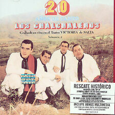 LOS CHALCHALEROS - 20 ANOS DE CANTO, VOL. 2 NEW CD