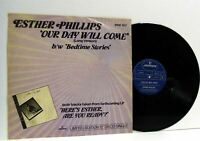 ESTHER PHILLIPS our day will come 12 INCH EX/VG-, 9198 357, vinyl, soul, disco,