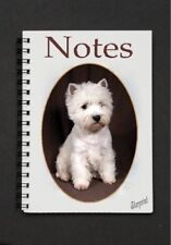Westie Dog Notebook/Notepad with a small image on every page by Starprint