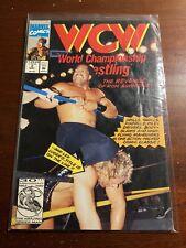 WCW World Championship Wrestling Marvel Comics #2 May 1991 Vintage Comic Book