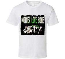 Mother Love Bone  Band Tour Medium Men White Cotton T-Shirt Size S-4XL TT223