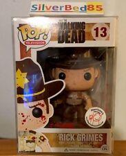 Funko Pop The Walking Dead Rick Grimes Bloody #13 Harrison's Exclusive Rare NIB