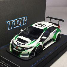 1/43 Peako TRC Honda Civic FK2 Race Car TCR WTCC Chrome Green