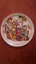 """Clown Capers"" 1985 Schmidt collector plate"