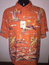 Men's Sun Surf  100%rayon Hawaiian shirt large