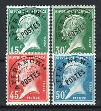 "FRANCE STAMP PREOBLITERE 65 / 68 "" PASTEUR 4 TIMBRES "" NEUFS xx TTB  P727"