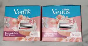 Gillette Venus Comfortglide Spa Breeze 2-in-1 Women's Razor Blades 8 Pack