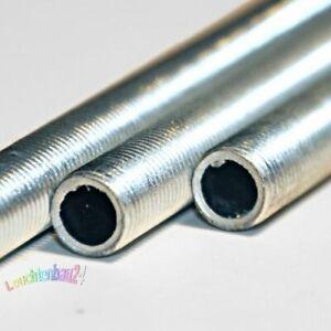 Gewinderohr, Rohr Eisen/Stahl verzinkt Gewinde M10x1, 1000mm 1m 100cm