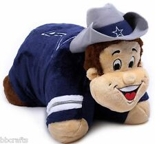 "NEW 18"" DALLAS COWBOYS LARGE PILLOW PET - FOR THE NFL Football FAN!"