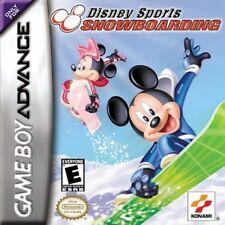 Disney Sports Snowboarding GBA New Game Boy Advance