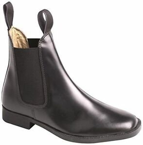 Loveson Grosvenor Adults Leather Jodhpur Boots,Black or Tan,All Sizes