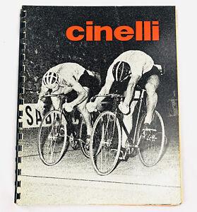 Cinelli Catalog 1975 Vintage Cycling Rare
