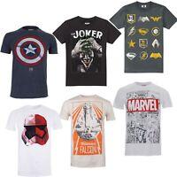 Men's T-Shirts - Official Marvel DC Comics Star Wars - Comic Con Fan T's