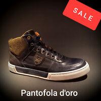 Pantofola d Oro Herren Boots Schuhe Sneaker dress blue blau Neu SALE REDUZIERT