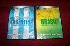 LOT 2 DVD FOOT-BALL ARGENTINA ET BRESIL