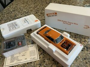 Danbury Mint 1969 Dodge Super Bee Six Pack w Box and Title Awesome!!