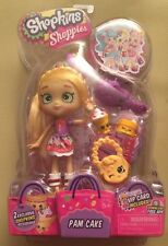 Shopkins Shoppies! New Pam Cake Doll With 2 Exclusive Shopkins & Accessories!