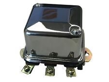 NEW! 6V Voltage Regulator Chrome Cover Harley 58-64 Big Twins Pre '65 Sportsters