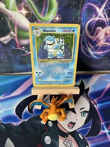 Blastoise Holo Rare Base Set 2/102 Unlimited - 1999 RARE POKÉMON CARD WOTC