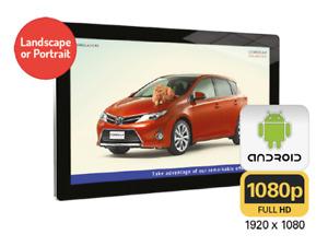 "⭐⭐⭐⭐⭐ 43"" Digital Menu board Menu screen advertising LCD HD  Android ⭐⭐⭐⭐⭐"