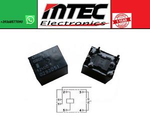 Relay G8QE-1A 12VDC Original Omron Repair Kit ECU C1 Aygo Eps
