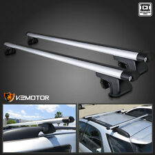 "48"" Aluminum Car Top Cross Bar Crossbar Roof Rack Pair For Cargo Luggage"