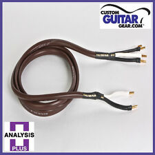 Analysis Plus Chocolate Theater 4-Wire Cable, Bi-WIRE Configuration, Length 10ft