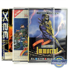 5 x MegaDrive Game Box Protectors for Sega Master System 32X STRONG 0.5mm Case