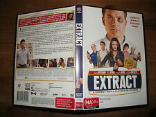 Extract (DVD, 2013) Region 4 Comedy Romance DVD Rated MA Used in VGC Ben Affleck