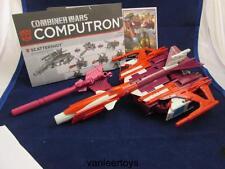 Transformers Generations Combiner Wars COMPUTRON SCATTERSHOT + Gun & Ins