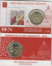 Vatikan Stamp&Coincard Nr. 18 2018