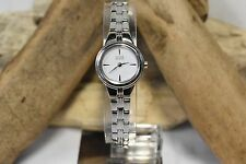 CITIZEN ECO-DRIVE EW9560-53A WOMEN'S STAINLESS STEEL ANALOG WATCH