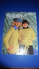 Robin Family Sweater Knitting Pattern 2667