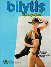 PUBLICITE ADVERTISING 064  1978   BILYTIS   robes & maillots de bain