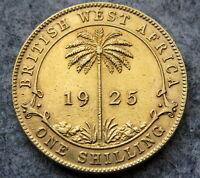BRITISH WEST AFRICA GEORGE V 1925 ONE SHILLING