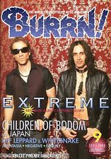 Burrn! Heavy Metal Magazine September 2008 Japan Extreme Def Leppard Y&T Rage