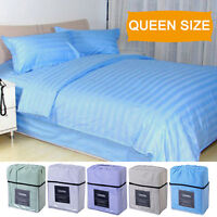 4 Piece Bed Sheet Set Deep Pocket 5 Color Available Queen Size New