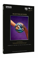 Epson Matte A3+ 13x19 Velvet Fine Art Photo Paper - 20 sheets