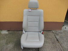 Mercedes Benz E-Klasse W212 Beifahrersitz Sitz links Kunstleder greige 118A