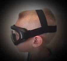 Drift Youth Goggles UTV RZR Glasses Eye Wear Kids Childrens Dust Dirt CLEAR LENS