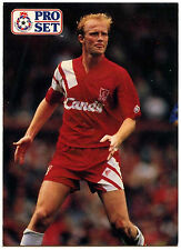 Mark Wright Liverpool #44 Pro Set Football 1991-2 Trade Card  (C364)
