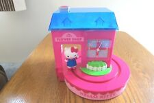 Hello Kitty Flower Shop ALARM CLOCK   Works!  SanRio