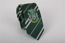 Harry Potter Slytherin Cravat Ascot Dress With Logo Necktie Tie Halloween's Gift