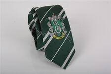 Harry Potter Slytherin Cravat Ascot Dress With Logo Necktie Tie Halloween's Gift