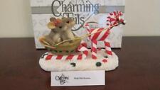Charming Tails - Sleigh Ride Sweeties - Fitz & Floyd 87/100 - In Original Box
