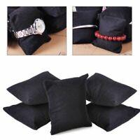 5pcs Velvet Pillow Bracelet Watch Jewelry Cushion Display Holder Showcase