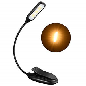 9 Modes Book Light,7 LED Clip Reading Light ,Up to 60 Hours Reading,Eye-Care USB
