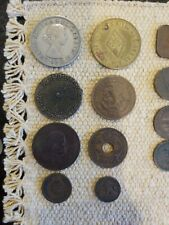 Lot Of 44 Foreign Coins Nice Mix Estate Find HS