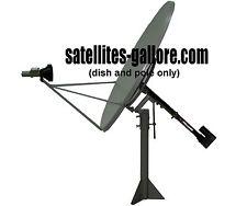 4ft (1.2m) Ku Band Polar Mount Solid Satellite TV Dish