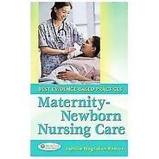 MATERNITY-NEWBORN NURSING CARE - NAGTALON-RAMOS, JAMILLE -PAPERBACK BOOK